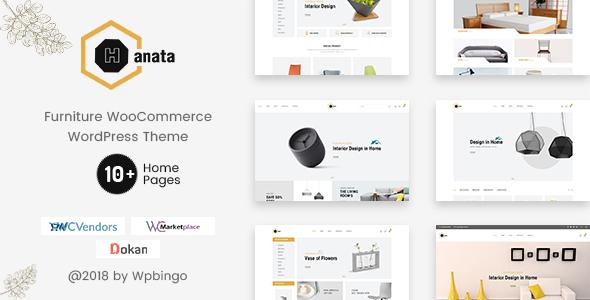Hanata - Marketplace WooCommerce Furniture Theme