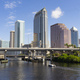 Downtwon City Skyline and Waterways of Tampa Florida - PhotoDune Item for Sale