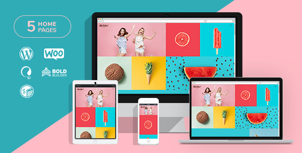 Ohlala - Cake Shop, Ice Cream & Juice Bar WordPress Theme