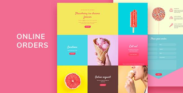 Ohlala - Cake Shop, Ice Cream & Juice Bar WordPress Theme