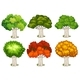 Different Shapes of Trees - GraphicRiver Item for Sale