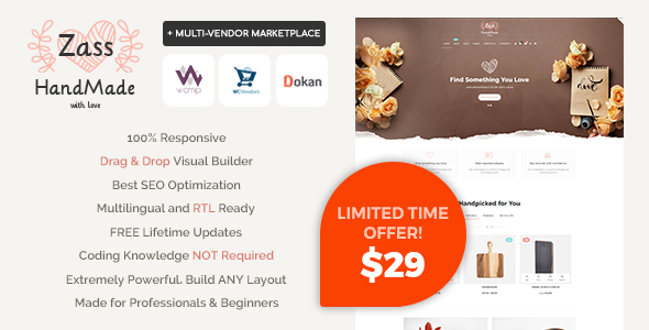 Zass - WooCommerce Theme for Handmade Artists and Artisans - WooCommerce eCommerce
