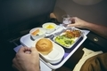 Dinner in economy class - PhotoDune Item for Sale