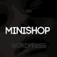 Minishop - Multipurpose, Minimal, e-Commerce, Marketplace WordPress Theme