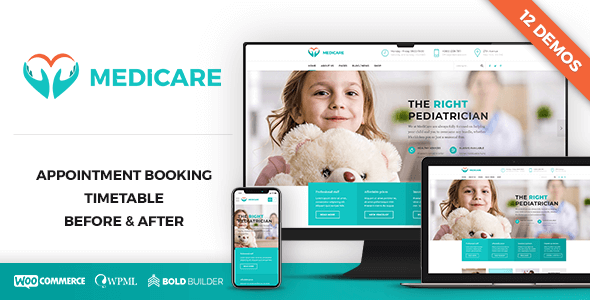 Top 20 Amazing Personal Doctor WordPress Themes 2018
