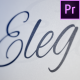 Elegance - Animated Handwriting Typeface - VideoHive Item for Sale