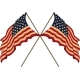 Two US Flags - GraphicRiver Item for Sale