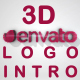 Short Minimal 3D Corporate Logo Intro - VideoHive Item for Sale