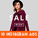 Instagram Fashion Banner #15 - GraphicRiver Item for Sale