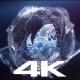 Circulating Liquid Logo Reveal 4k