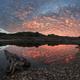 Sunset river orange sky landscape - PhotoDune Item for Sale