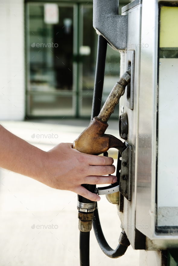 Gas station - Stock Photo - Images
