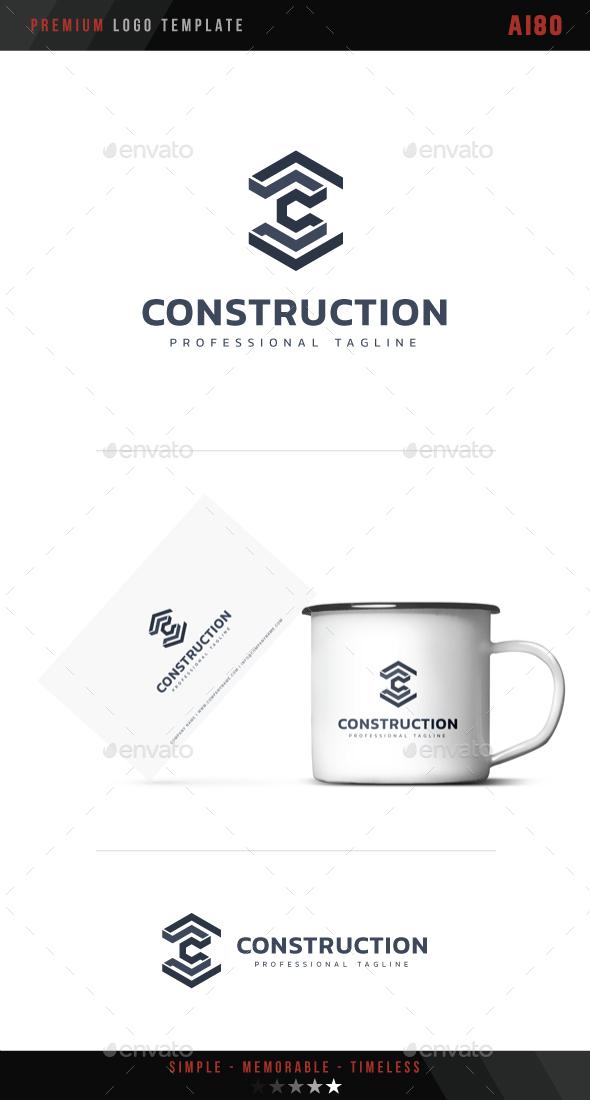 Construction Logo - Abstract Logo Templates