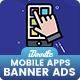 Mobile Application Banners Ad - GraphicRiver Item for Sale
