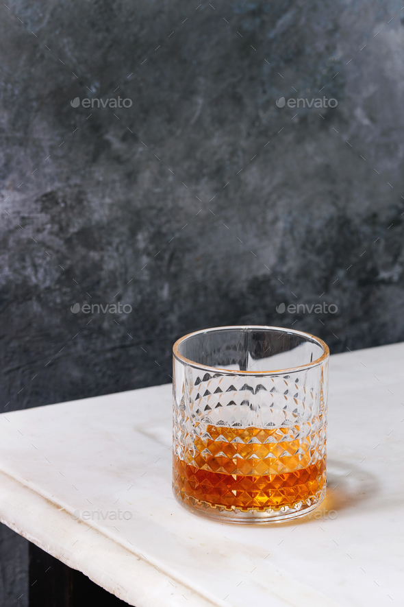 Glass of whiskey - Stock Photo - Images