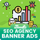 SEO Agency Banners Ad - GraphicRiver Item for Sale