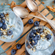 Blueberries and yogurt chia pudding parfait - PhotoDune Item for Sale
