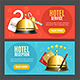 Hotel Reception Service Banner Set - GraphicRiver Item for Sale