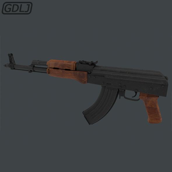 AK-47 - 3DOcean Item for Sale