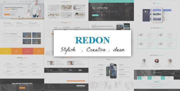 Download Redon – Multipurpose Landing Page WordPress Theme nulled prev