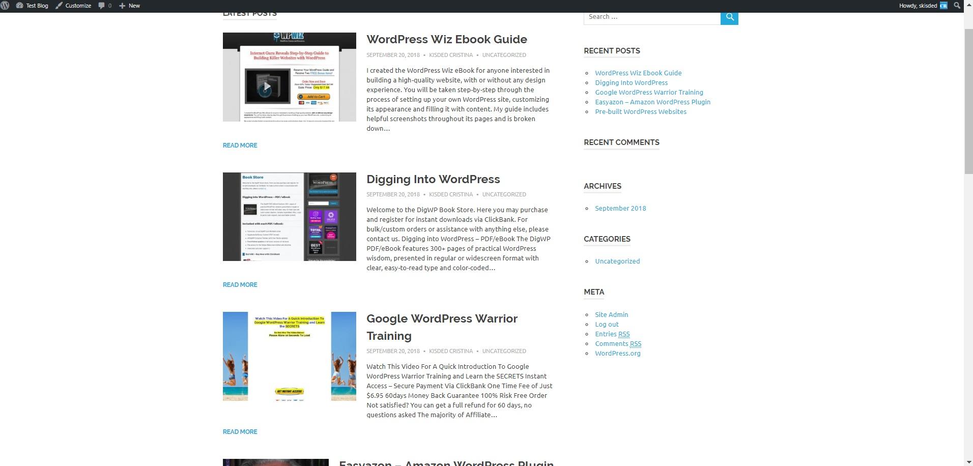 Clickbank And Amazon Affiliates Free WordPress Affiliate Clickbank