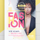 Fashion Show Vol.4 Flyer Template - GraphicRiver Item for Sale
