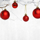 twigs with christmas baubles - PhotoDune Item for Sale