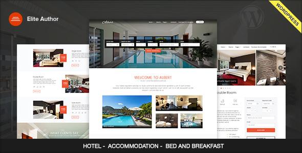Albert - Hotel and Bed&Breakfast WordPress Theme - Travel Retail