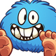 Blue Monster - GraphicRiver Item for Sale