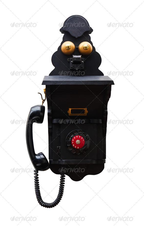 Telephone  vintage - Stock Photo - Images