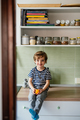 Little boy in kitchen - PhotoDune Item for Sale