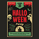 Retro Halloween Party Flyer - GraphicRiver Item for Sale