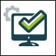 Computer Check Logo Template