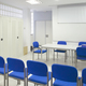 Empty classroom with chairs. Conference room. Back to school. Indoor - PhotoDune Item for Sale