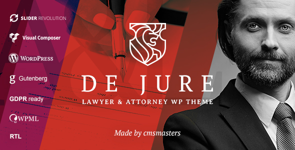 De Jure - Attorney and Lawyer WP Theme - Business Corporate