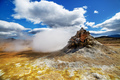 Volcanic steam vent in a beautifil Iceland landscape. - PhotoDune Item for Sale