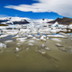 Blocks of ice on the beach in Iceland. - PhotoDune Item for Sale