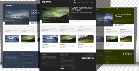 Free Download Lightpath - bright portfolio & business Nulled Latest Version
