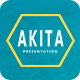 Akita - Creative Powerpoint Template - GraphicRiver Item for Sale