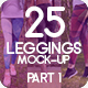 25 Leggings Mock-Up 2018 Part 1 - GraphicRiver Item for Sale