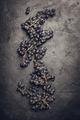 Fresh grape on dark background - PhotoDune Item for Sale