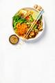 Asian Tofu Soba Noodle Bowl - PhotoDune Item for Sale