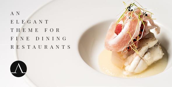 Attika - Elegant Theme for Fine Dining Restaurants - Restaurants & Cafes Entertainment