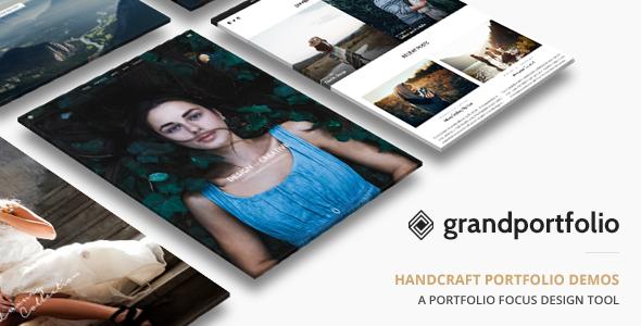 Grand Portfolio | Portfolio WordPress - Portfolio Creative
