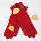 Gloves for woman and leaves on white boards, clothing for autumn or winter concept - PhotoDune Item for Sale