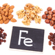 Different ingredients containing iron, vitamins, natural minerals and fiber - PhotoDune Item for Sale
