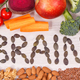 Inscription brain and best nutritious natural food for health and good memory - PhotoDune Item for Sale