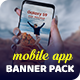 Mobile App Banner Pack - GraphicRiver Item for Sale