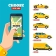 Taxi Order Online - GraphicRiver Item for Sale