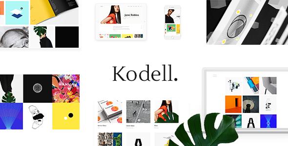 Kodell - Creative Portfolio Theme for Designers and Agencies - Portfolio Creative